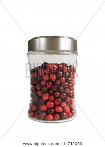 Jar of Cranberries