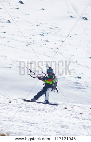 World Snowkite Contest Altosangro 2016