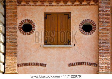 Albizzate  Window  Varese Italy     Wood