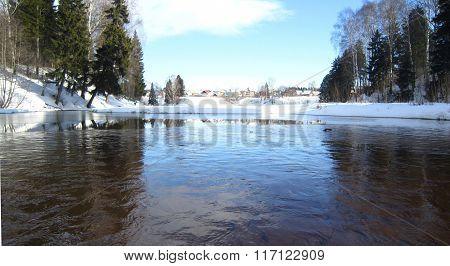 Winter Pond......