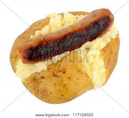 Baked Potato And Sausage