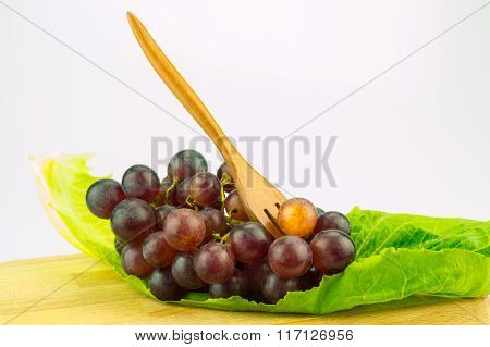 Grape On Green