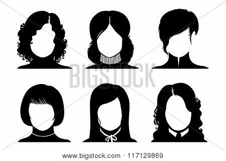 Woman Avatar: Faceless