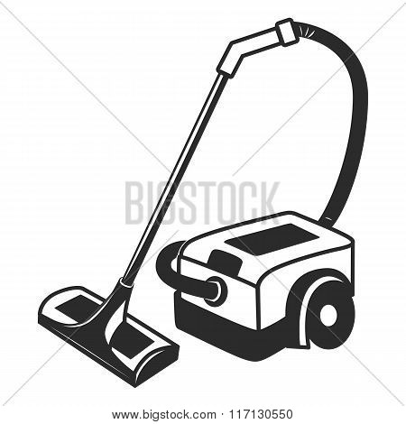 Vector Vacuum Cleaner Icon