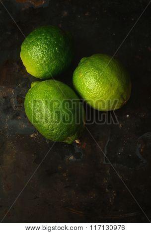 Fresh Juicy Limes