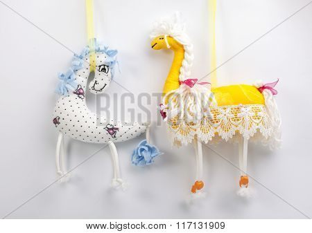 Homemade toy horse