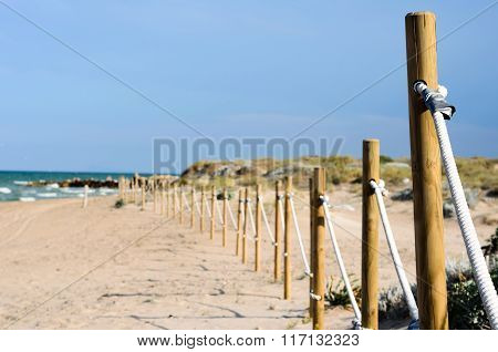protection on the beach