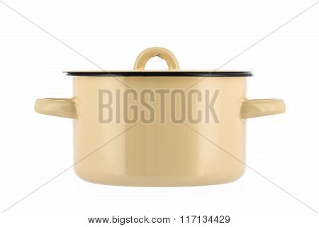 New Pot Isolated On White