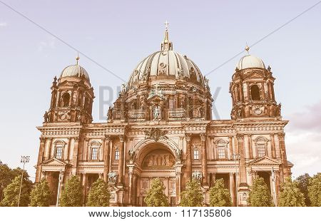 Berliner Dom In Berlin Vintage