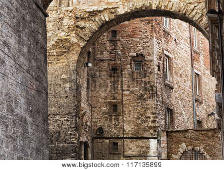 Historic Center Of Perugia, Perugia, Umbria, Italy