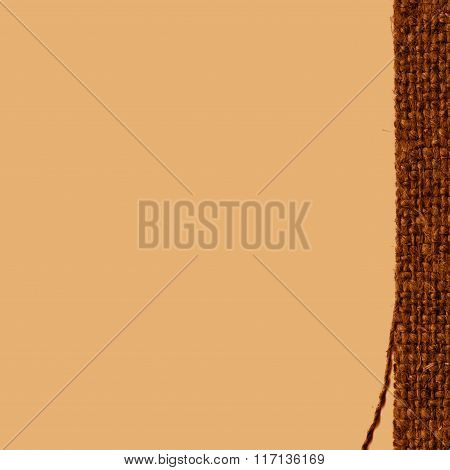 Textile Tablecloth, Fabric Space, Khaki Canvas, Macro Material, House Background