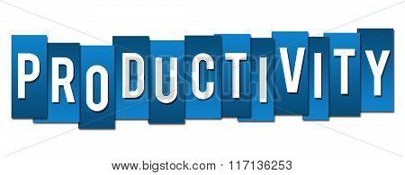 Productivity Blue Stripes