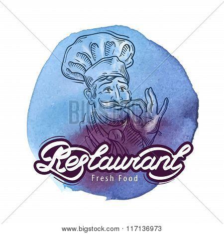 restaurant vector logo design template. cooking or cuisine icon