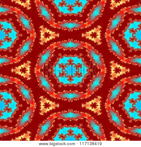 Seamless Abstract Oriental Persian Pattern For Carpet
