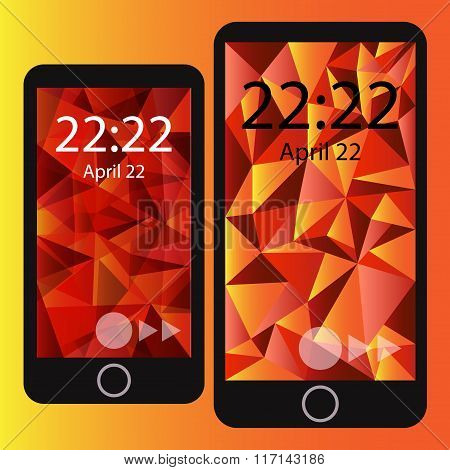 Smart phone wallpaper