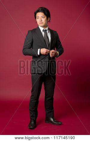 Strong Asian Male Portrait