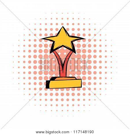 Star award comics icon