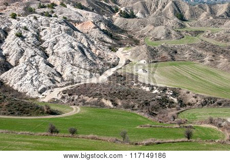 Agricultural  Farmland Field