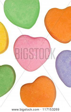 Blank Valentine's Day Candy Hearts