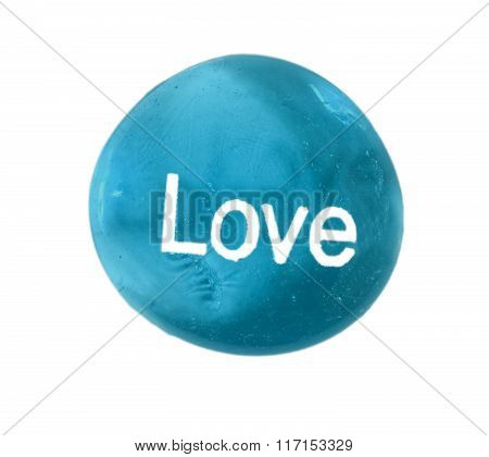 Love  Inspirational Stone