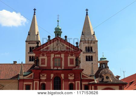 St. George's Basilica in Prague Castle, Czech Republic
