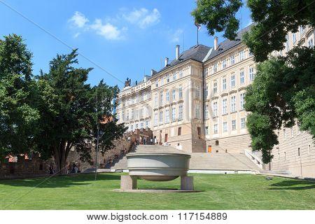 Paradise Garden At Prague Castle South Side