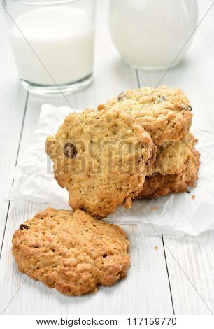 Cereal Cookies And Milk