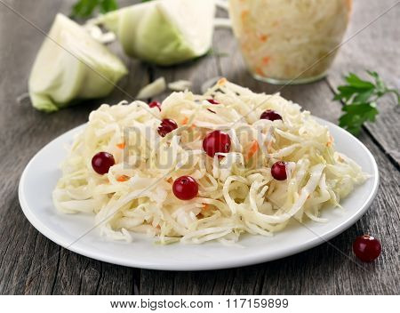 Pickled Cabbage (sauerkraut)