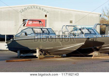Anytec Aluminum Boat