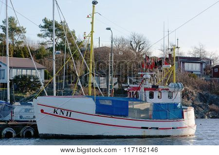 Small Fishing Ship