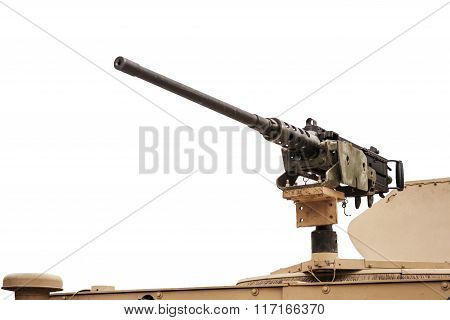 Heavy Machine Gun  Left - Isolated