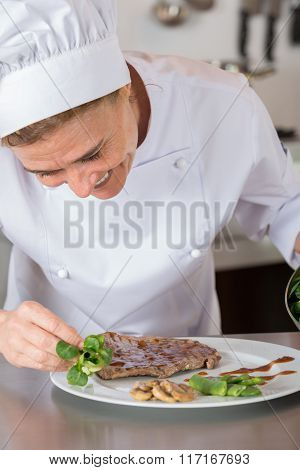 Chef Finishing Your Plate