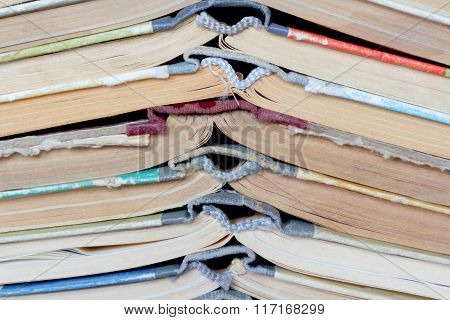 Stack Old Hardcover Book