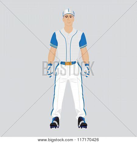 Baseball player uniform