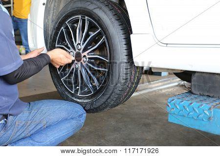 Mechanic Repaired Wheeled Vehicles.