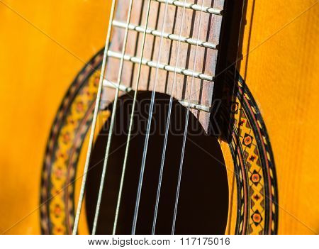 Acoustic Classical Guitar.