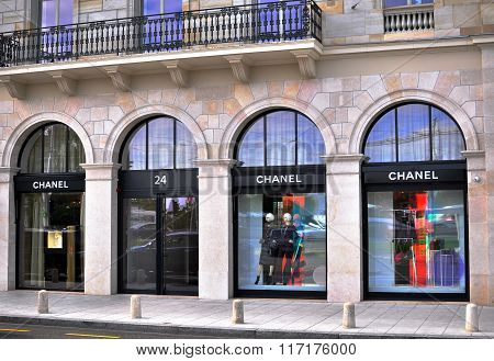 Chanel Store, Geneve