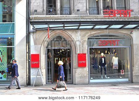 Esprit Flagship Store, Geneva