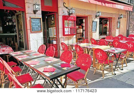 French Restaurant, Haute Savoie
