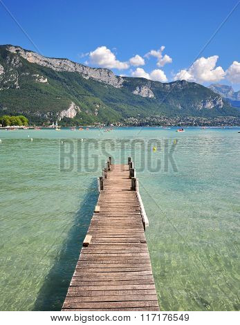 Annecy Lake, France