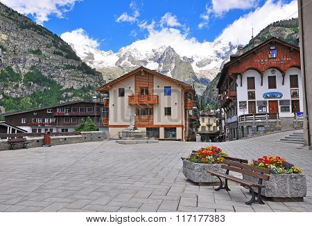 Courmayeur On Summer, Italian Alps