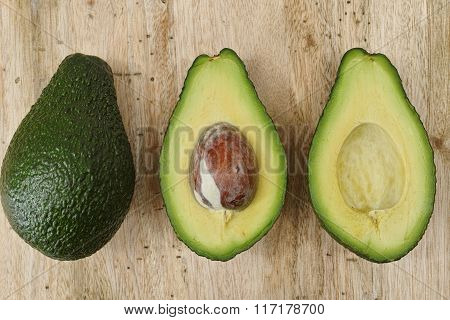 Green Fresh Avocado