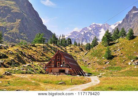 Chalet In Italian Alps
