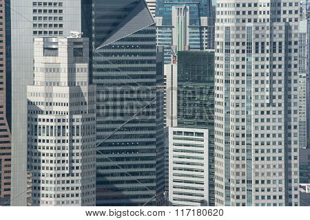 Office Buildings In Singapore, Asia