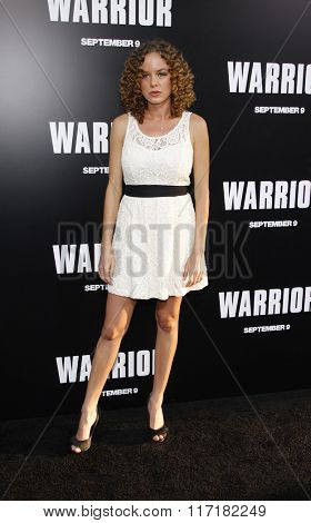 Laura Kenley at the Los Angeles premiere of