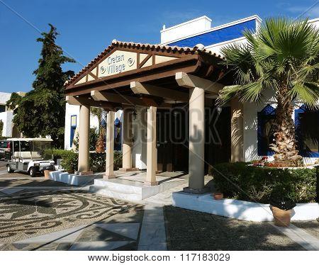 Cretan Village