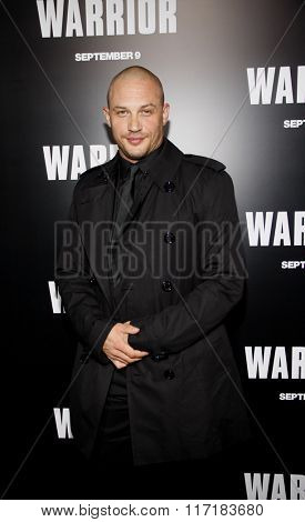 Tom Hardy at the Los Angeles Premiere of