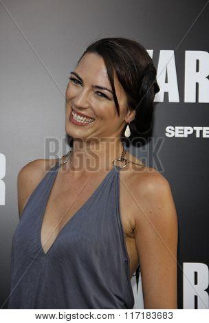 Monique Gardenton at the Los Angeles Premiere of