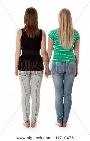 Two Girls In Jeans