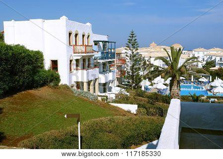 Villas In Cretan Village.